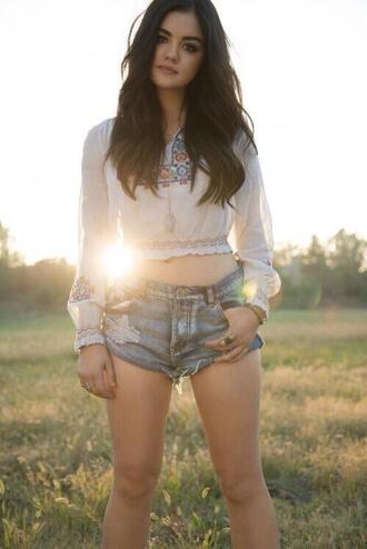blouse lucy hale