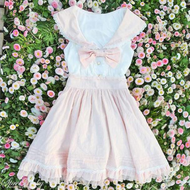 dress lolita pastel goth kawaii dress gyaru