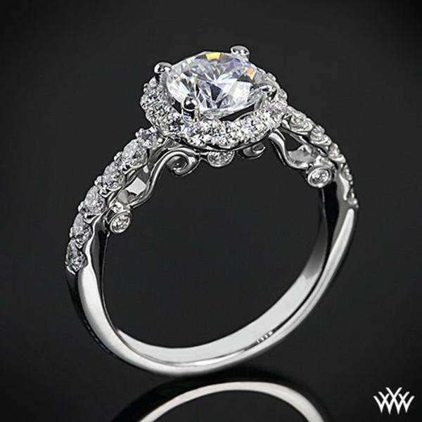 jewels real diamonds diamonds white gold white gold ring vintage ring vintage retro art deco ring