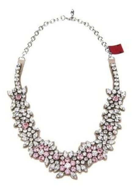 jewels diamonds necklace statement necklace