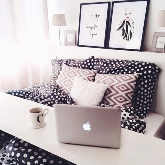 home decor pattern polka dots elegant ikea bed set bedding
