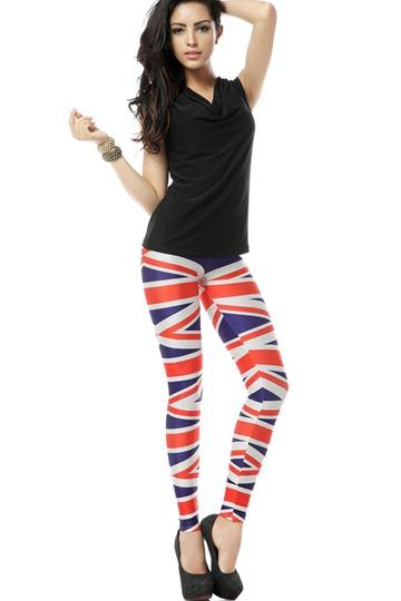 Union Jack Leggings [FBBI00111]- US$ 27.99 - PersunMall.com