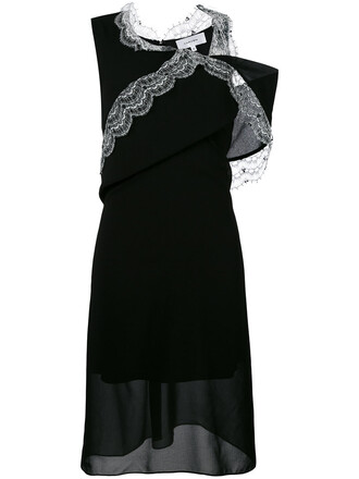 dress evening dress women lace black