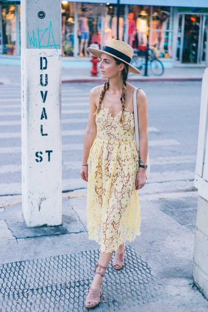 Summer dress with hat tumblr