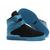 supra tk society high top blue and black suede men shoes