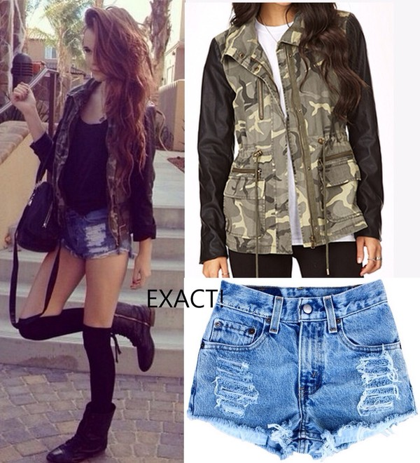 jacket acacia brinley army green jacket