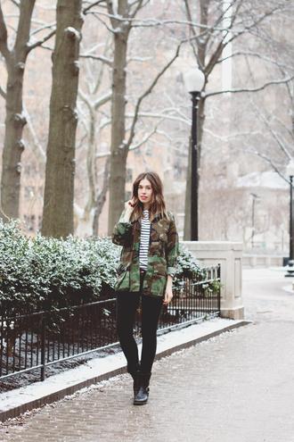 orchid grey blogger camo jacket