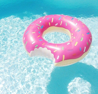 home accessory donut summer pool accessory easter