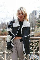 coat,suede,shearling,fur coat
