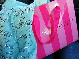 sweater aztec victoria's secret pink vs white pullover top