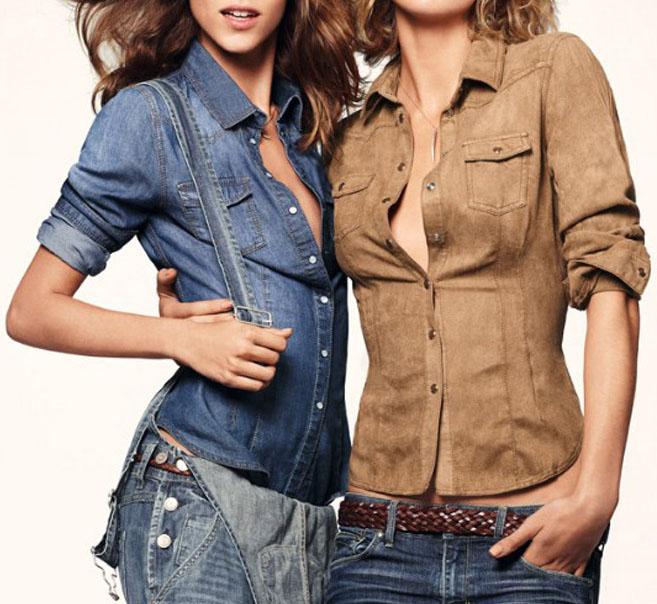 [US$29.99] - Brand Denim Shirt Slim Oversize : ThatsPoint.com
