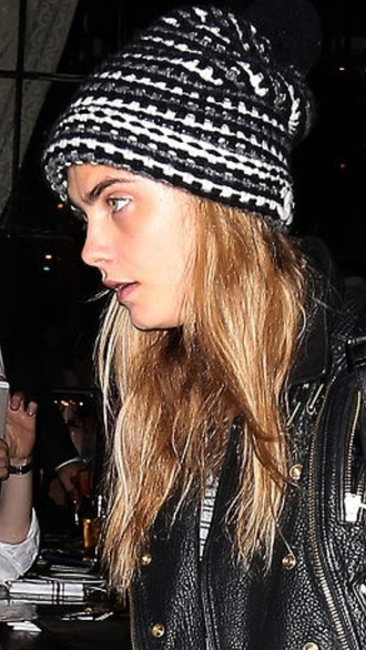 cara delevingne beanie hat cara style chanel buy