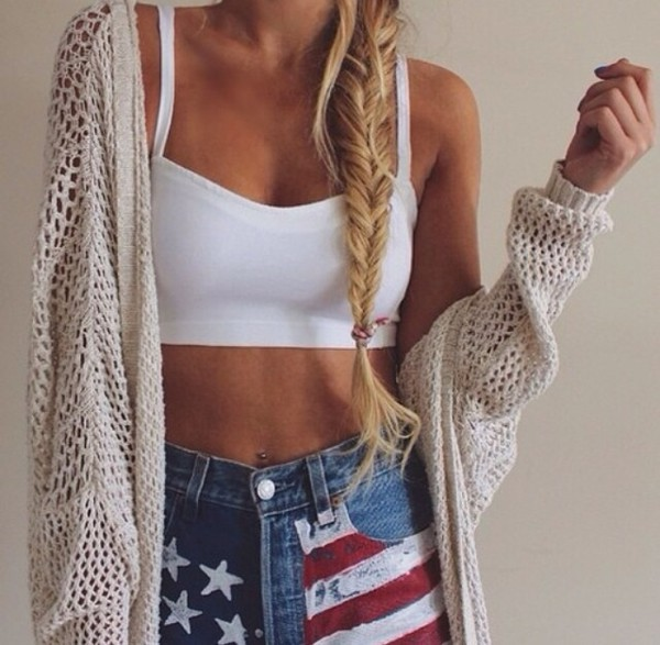 white crop tops jeans sweater summer outfits jacket cardigan where to get this top