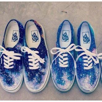shoes vans galaxy