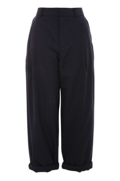 Topshop navy blue pants