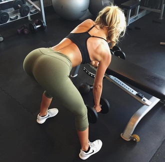 tights workout workout leggings army green olive green