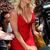 V Neck Asymmetric Hem Bandage Dress Red