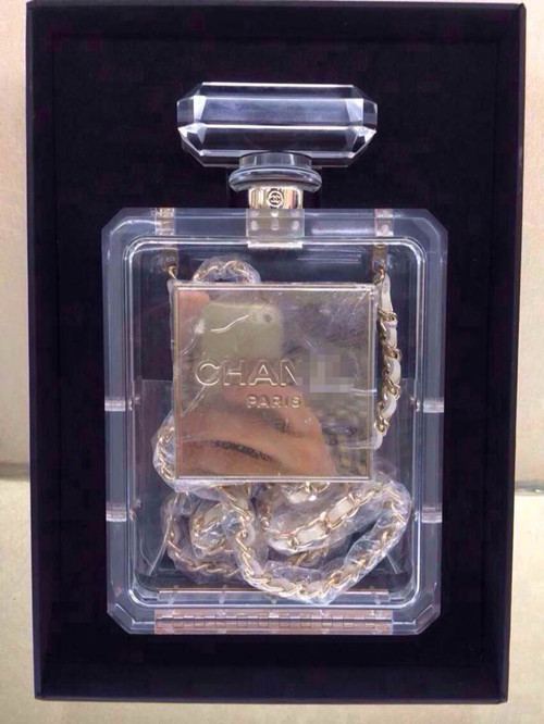 2014 ruslana korshunova crystal no . 5 perfume bottle bags bag-inOthers from Luggage & Bags on Aliexpress.com