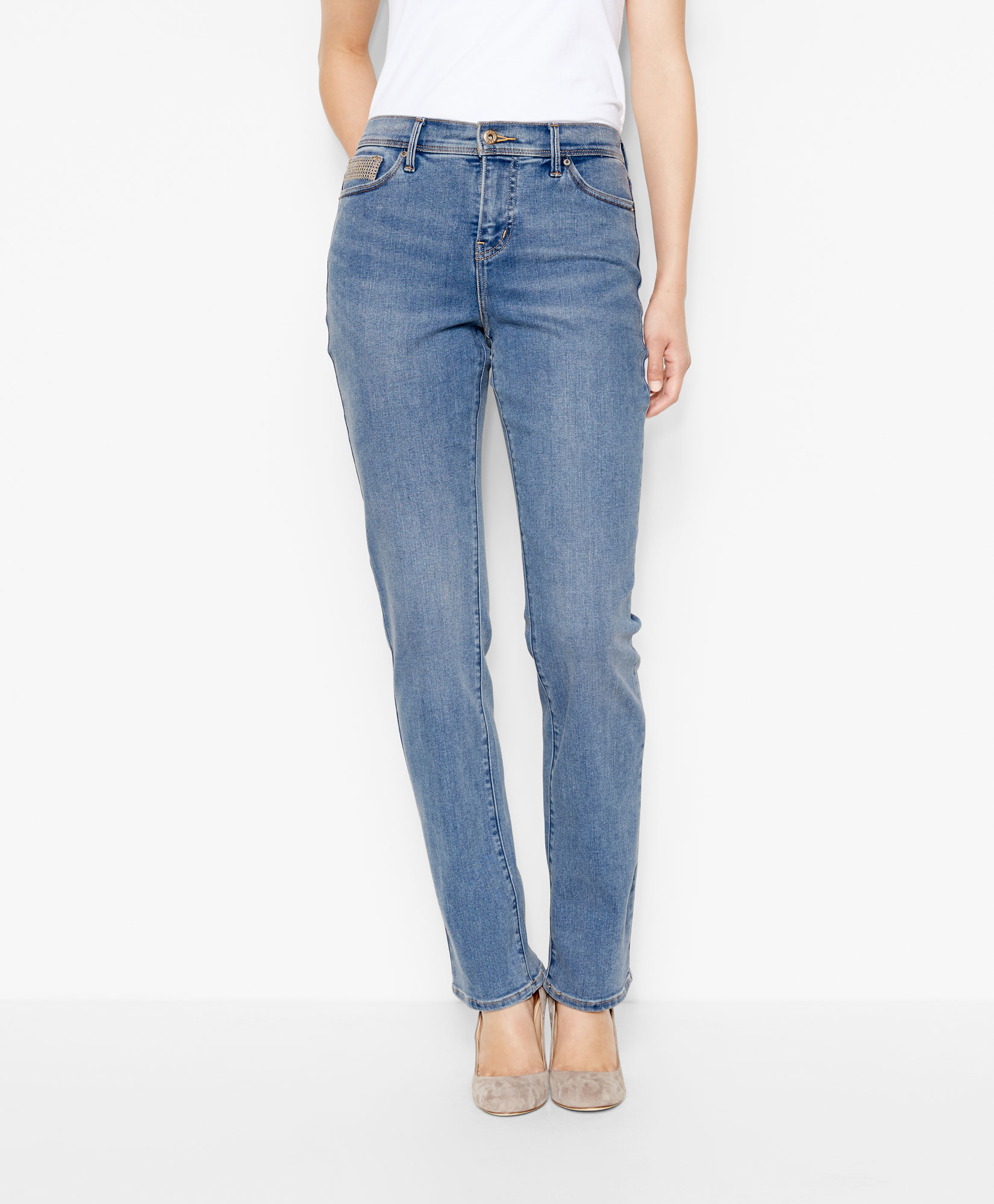 512™ perfectly slimming straight jeans