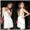 Womens bow tunic backless strap cocktail party summer clubwear mini dress 1764 | ebay