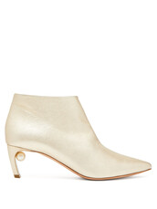 leather ankle boots,ankle boots,leather,gold,shoes