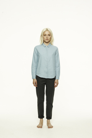 Shop for  at Vanishing Elephant / Abbey in Blue Chambray /