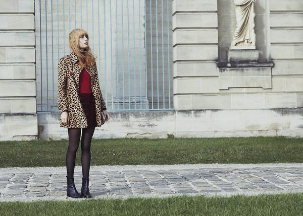 miss pandora blogger boots leopard print