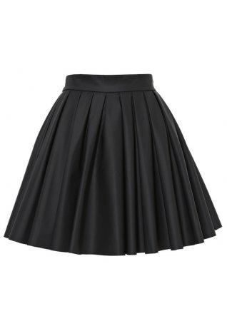 StyleStalker | Black Pleated Skirt | HaveToLove