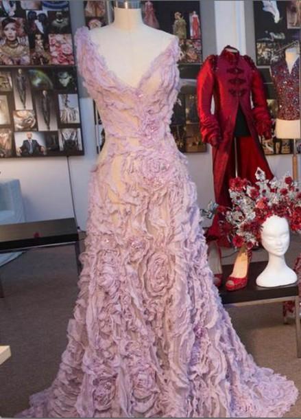 dress long dress prom dress v neck dress v neck short sleeve