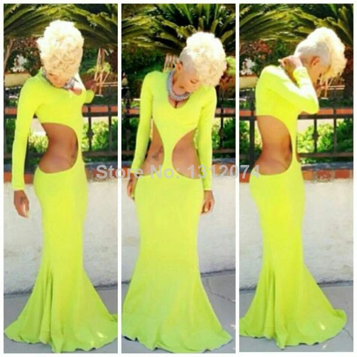 new lemon green evening dress maxi long prom dress evening gown celebrate sexy bodycon bandage brand summer dress vintage om120-in Apparel & Accessories on Aliexpress.com | Alibaba Group