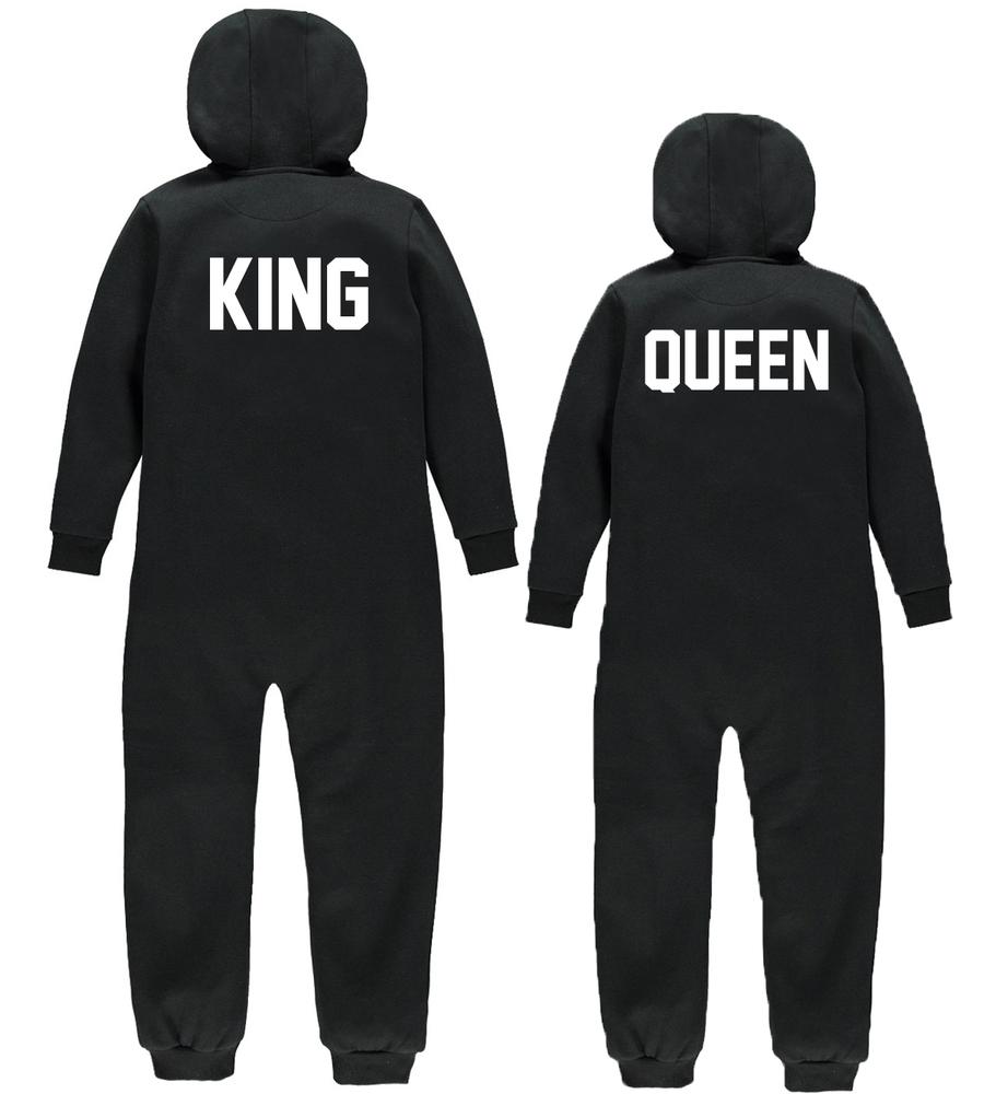 King & queen onesie