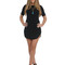 Kylie mini dress - black