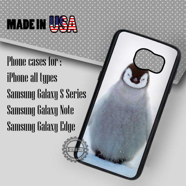 phone cover baby penguin