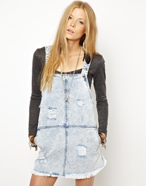 Somedays | Somedays Lovin Campfire Overall Dress at ASOS
