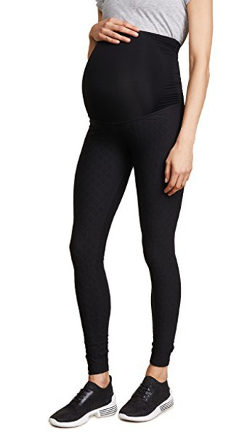 Beyond Yoga leggings texture black pants