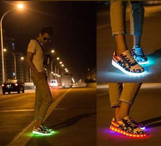 shoes led shoes sneakers