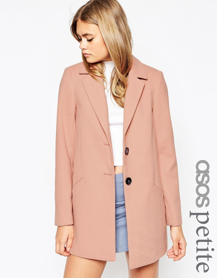 PETITE Ultimate Slim Coat at asos.com