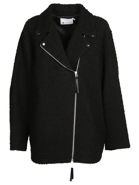 Alexander Wang coat asymmetrical black