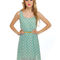 Darling light blue dress - polka dot dress - $43.00