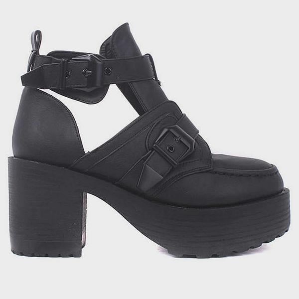 Retro platform boots · just fashion ·