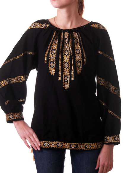 blouse ethnic vyshyvanka embroidered shirt ukraine ethnic clothes