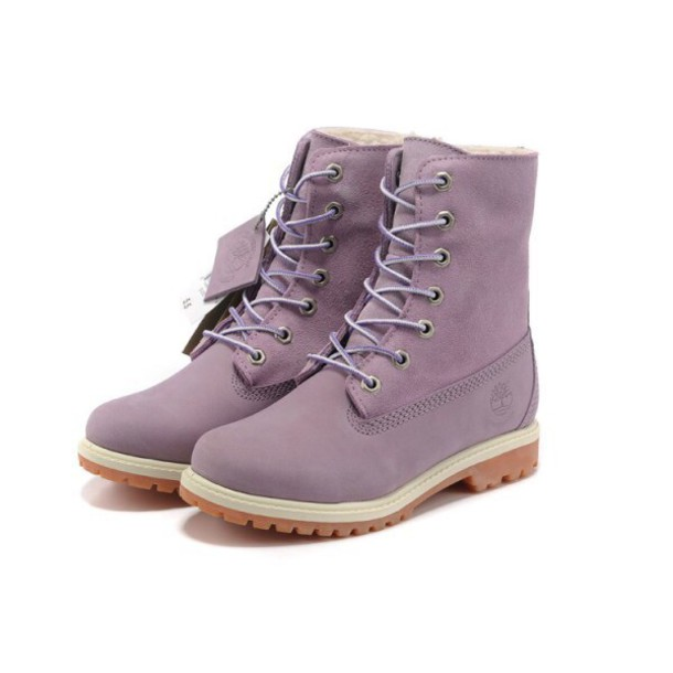 shoes boot purple