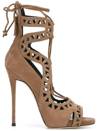 tattoo sandals nude shoes