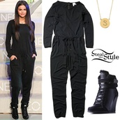 jumpsuit,celebrity style,gloves,shoes