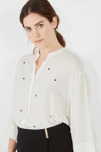 shirt embellished top