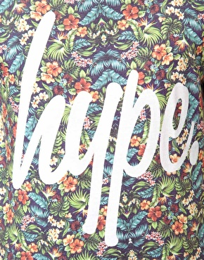 Hype | Hype Floral T-Shirt With All Overprint at ASOS
