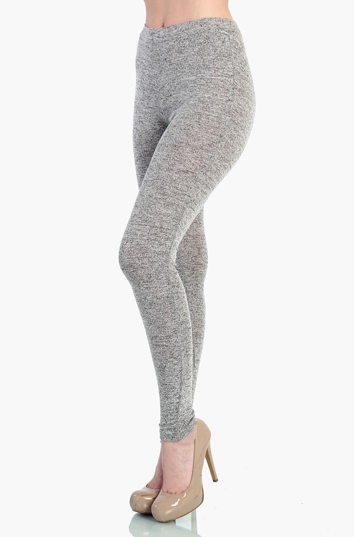 High waist gray leggings