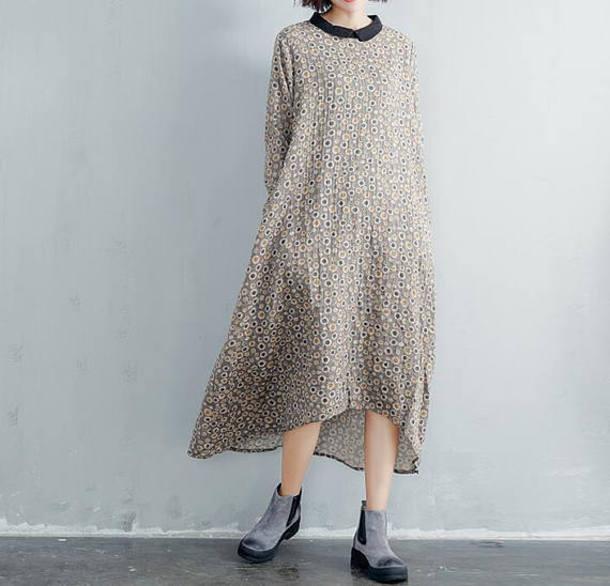 dress asymmetry long dress