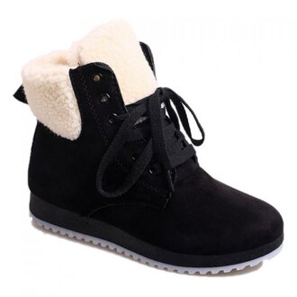 shoes boots winter boots black rose wholesale booties black boots casual