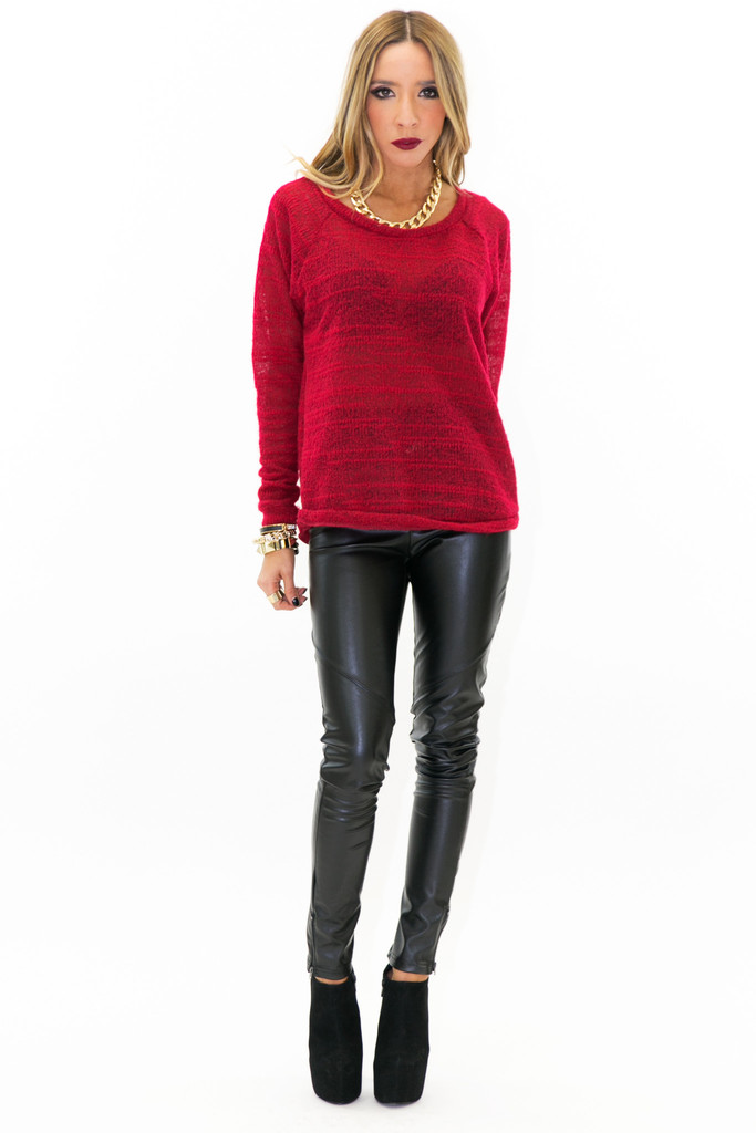 BRINGOM KNIT SWEATER | Haute & Rebellious